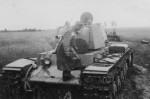 KV1 heavy tank eastern front 3