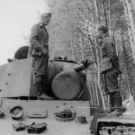 KV1 heavy tank eastern front photo