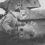 KV1 holes in the turret and rear armor