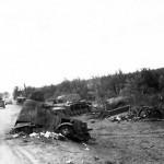 KV1 tank Bialystok Poland 1941