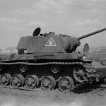 KV1 tank model 1941 with number 116