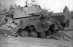 KV1 tank wreck