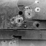 KV1 damaged turret