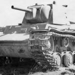 Kliment Voroshilov KV1 tank model 1940 with F-32 gun