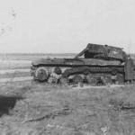 knocked out tank KV1