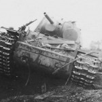 Soviet heavy tank Kliment Voroshilov KV-1 photo 1