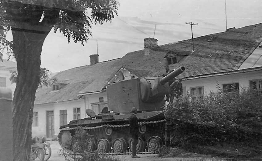 Image result for The Russian KV-2