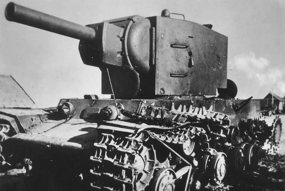KV2 tank model 1941 1