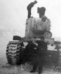 German KV2 winter camouflage 2