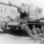 German Panzerkampfwagen KV-2 754 (r) – tank of the Panzer-Kompanie z.b.V. 66, Neuruppin 1942