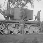 Heavy assault tank KV-2 1941