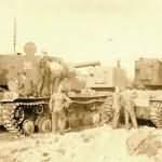 KV-2 152mm Gun Armed Tanks
