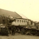 KV-2 and T-37 tanks