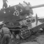 KV-2 with german markings
