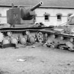 KV2 and T-26 tanks 1941 Operation Barbarossa