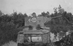 KV2 with markings 12 Panzer division