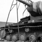 Soviet heavy breakthrough tank KV2