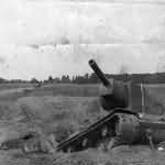 Soviet heavy breakthrough tank KV2 1941