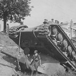 Soviet heavy breakthrough tank KV-2