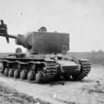 Tank KV2 eastern front 1941 6