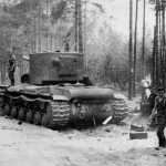 Heavy soviet tank KV2 eastern front 1941, operation Barbarossa
