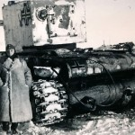 german KV-2 PzKpfw 754 (r), winter camo