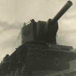 KV-2 heavy tank front view 3