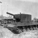 KV2 tank in Essen Germany 1945