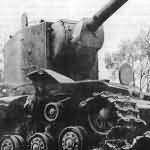 KV2 destroyed tank 2