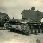 heavy tank KV-2 rear view, 1941