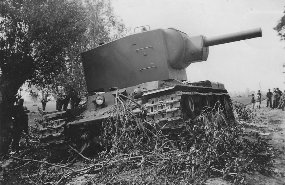 abandoned KV-2 heavy assault tank 2