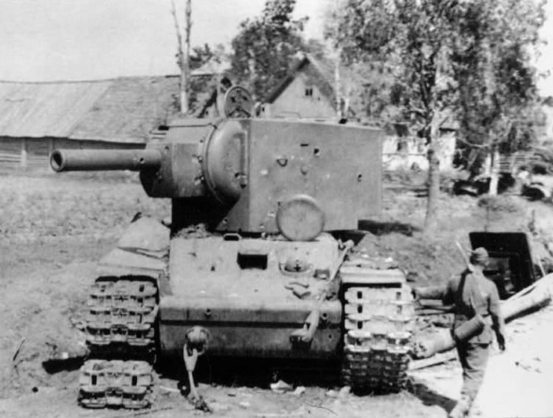 KV2 tank (model 1941) destroyed 11
