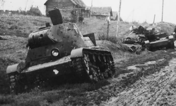 OT 133 tank flame thrower Russia 1941