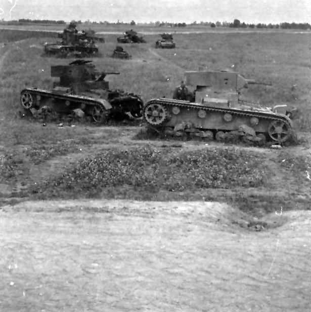 T 26 tanks 1941