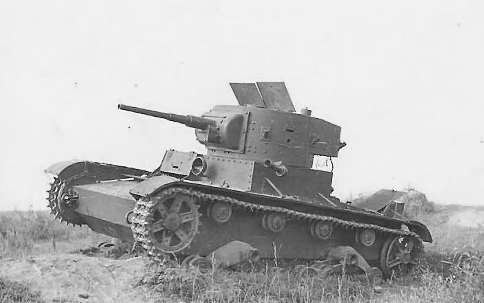 soviet T 26 tank