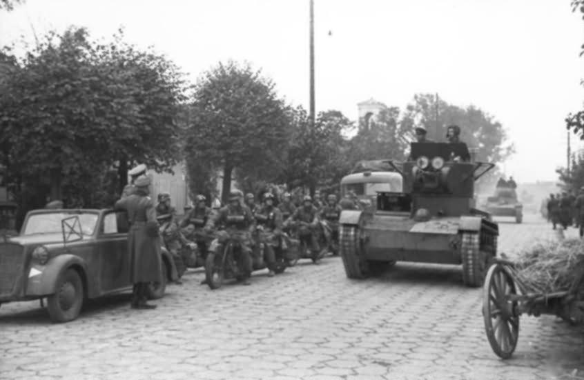 t 26 polen deutsch sowjetische siegesparade panzer