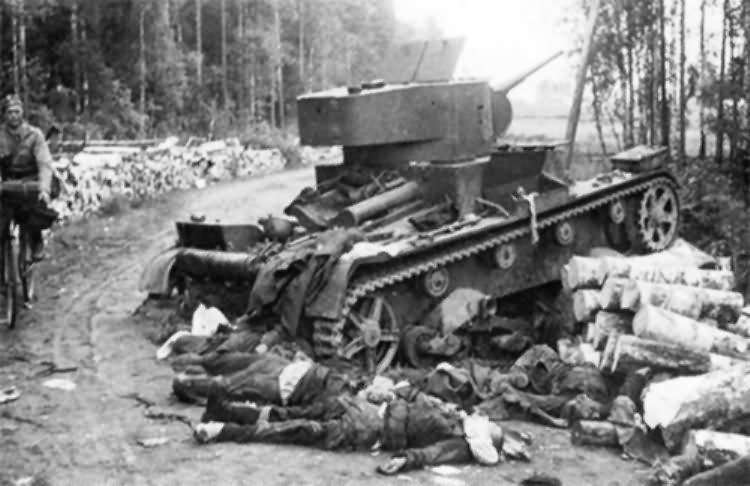 T-26 tank Finland