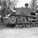 multi-turreted medium tank T-28