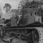 T-28 and KV2 tanks after capture by German forces, Summer 1941