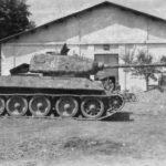 German T-34/85 Panzerkampfwagen T-34 747(r)