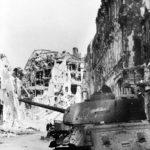 T-34-85 code 232 in Berlin, 1945