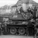 T-34-85 7th Guards Tank Corps Prague 45