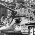 T-34/85 in Bukarest 1944