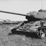 T-34-85 and T-34/76 tanks