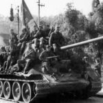 T-34/85 tank armed with the 85 mm gun