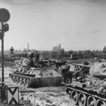 T-34 76 and 85 Dresden 1945