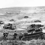 T-34/85 tanks from 3rd Ukrainian Front, April 1944