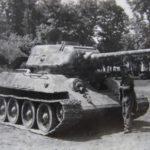T-34/85 tank in german Wehrmacht service 2