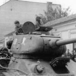 Tank T-34-85 #10 36th Guards tank brigade Yugoslavia October 1944