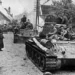 T-34-85 tanks St. Pölten, Austria 1945